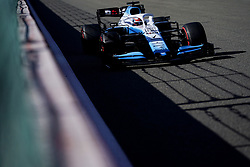 August 30, 2019, Francorchamps, Belgium: GEORGE RUSSELL of ROKiT Williams Racing during practice of the Formula 1 Belgian Grand Prix at Circuit de Spa-Francorchamps in Francorchamps, Belgium. (Credit Image: © James Gasperotti/ZUMA Wire)