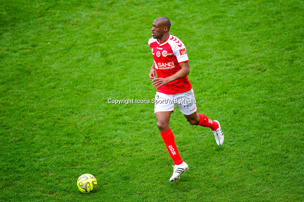 Mohamed FOFANA - 12.04.2015 - Reims / Nice - 32eme journee de Ligue 1 <br />