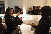 Black Eye eyewear's 1st Birthday, 38 Goodge Street,  London. W1. 16 January 2014.