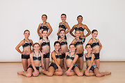 The Dance Company of Los Gatos dancers pose for portraits during Competition Photo Day at TDC in Los Gatos, California, on July 15, 2016. (Stan Olszewski/SOSKIphoto)