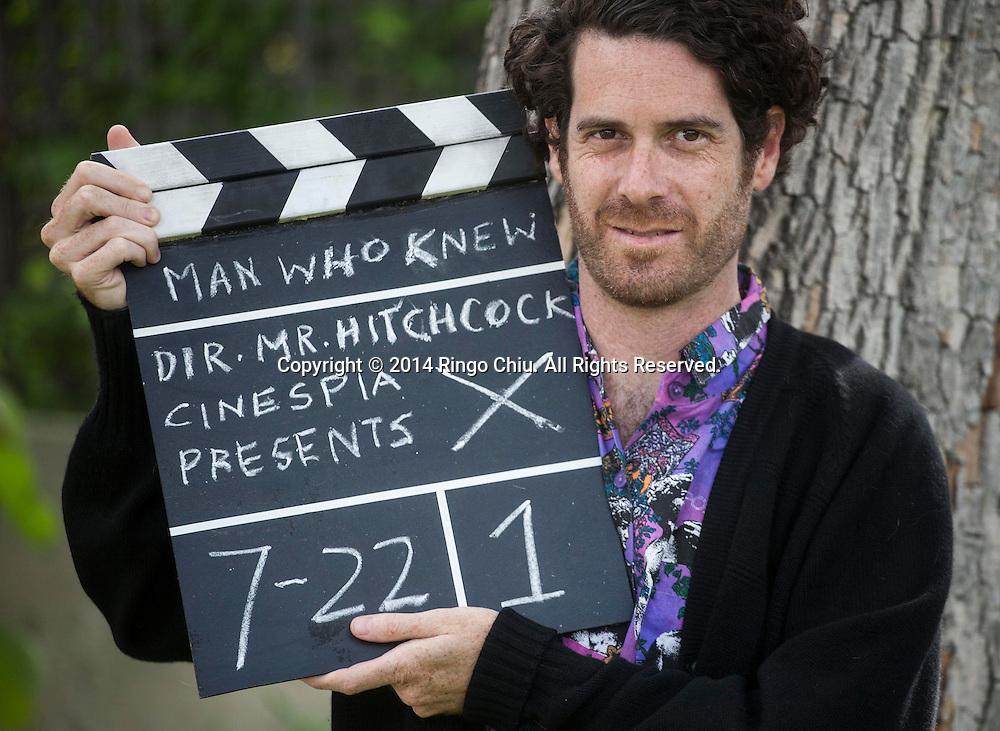 John Wyatt, founder of Cinespia. (Photo by Ringo Chiu/PHOTOFORMULA.com)