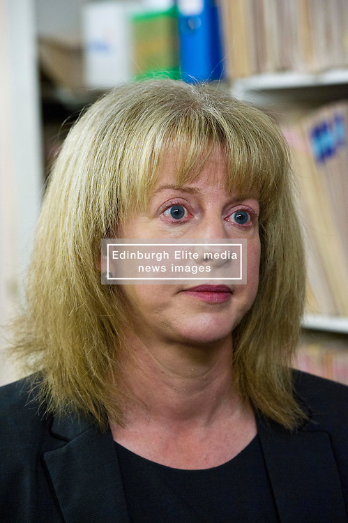 Pictured: Health Secretary Shona Robison, MSP<br /> <br /> Today Health Secretary Shona Robison, MSP, visited The Grange Medical Practice in Edinburgh to mark an agreement with doctors' union, the BMA,  on the future of primary care services. <br /> <br /> Ger Harley | EEm 3 November 2016