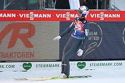 08.01.2015, Kulm, Bad Mitterndorf, AUT, FIS Ski Flug Weltcup, Einfliegen der Schanze, im Bild Gregor Schlierenzauer (AUT) // Gregor Schlierenzauer (AUT) during the FIS Ski Flying World Cup at the Kulm, Bad Mitterndorf, Austria on on 2015/01/08. EXPA Pictures © 2015, EXPA/ Martin Huber