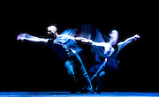 Russell Maliphant Company <br /> Still Current <br /> at Sadler's Wells, London, Great Britain <br /> Press photocall<br /> 5th June 2014 <br /> <br /> <br /> Afterlight <br /> danced by Thomasin Gulgec<br /> <br /> <br /> Still Current <br /> <br /> danced by Russell Maliphant <br /> Carys Staton