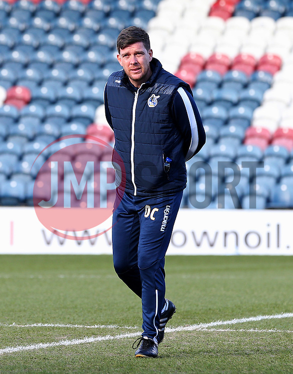 Bristol Rovers manager Darrell Clarke checks out the pitch before kick off - Mandatory by-line: Matt McNulty/JMP - 04/02/2017 - FOOTBALL - Crown Oil Arena - Rochdale, England - Rochdale v Bristol Rovers - Sky Bet League One