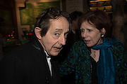 SIR ANTHONY SELDON; MARJORIE WALLACE, Launch of The Happy Kitchen: Good Mood Food, by Rachel Kelly and Alice Mackintosh. Squirrel, South Kensington. London. 31 January 2017