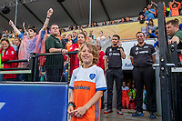 UTRECHT -  Fan of the Match, Guus,    FIH Pro League, Nederland-Argentinie (2-2) Arg wint shoot outs. COPYRIGHT KOEN SUYK