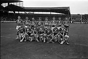 02/09/1962<br /> 09/02/1962<br /> 2 September 1962<br /> All-Ireland Minor Final: Tipperary v Kilkenny at Croke Park, Dublin. <br /> The Tipperary Minor Hurling team.
