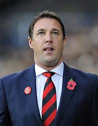Cardiff City Manager, Malky Mackay - Photo mandatory by-line: Joe Meredith/JMP - Tel: Mobile: 07966 386802 03/11/2013 - SPORT - FOOTBALL - The Cardiff City Stadium - Cardiff - Cardiff City v Swansea City - Barclays Premier League
