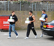 13.APRIL.2011. CHIGWELL, ESSEX<br /> <br /> THE ONLY WAY IS ESSEX STAR MARK WRIGHT AND FORMER BLAZIN' SQUAD MEMBER JAMES VICTOR MACKENZIE AKA KENZIE LEAVING THE GYM IN CHIGWELL, ESSEX.<br /> <br /> BYLINE: EDBIMAGEARCHIVE.COM<br /> <br /> *THIS IMAGE IS STRICTLY FOR UK NEWSPAPERS AND MAGAZINES ONLY*<br /> *FOR WORLD WIDE SALES AND WEB USE PLEASE CONTACT EDBIMAGEARCHIVE - 0208 954 5968*