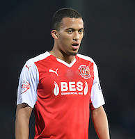 Fleetwood Town's David Henen<br /> <br /> Photographer Dave Howarth/CameraSport<br /> <br /> Football - Johnstone's Paint Trophy Northern Area Final 2nd Leg - Fleetwood Town v Barnsley - Thursday 4th February 2016 - Highbury Stadium - Fleetwood<br />  <br /> © CameraSport - 43 Linden Ave. Countesthorpe. Leicester. England. LE8 5PG - Tel: +44 (0) 116 277 4147 - admin@camerasport.com - www.camerasport.com