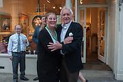 HRH Princess Katarina, Lady de Silva; John Rendall, Pimlico Rd. Jubilee streetparty. London. 29 May 2012.