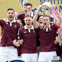 Hearts v Rangers   Scottish Championship   2 May 2015