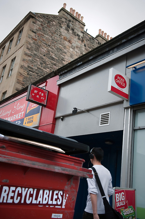 The Post Office in Leith, Scotland, where JK Rowling posted copies of the first Harry Potter Book.
