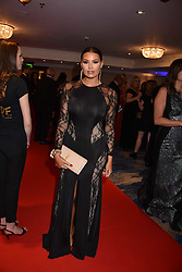 Jessica Wright at the Chain of Hope Gala Ball held at the Grosvenor House Hotel, Park Lane, London England. 17 November 2017.<br /> Photo by Dominic O'Neill/SilverHub 0203 174 1069 sales@silverhubmedia.com