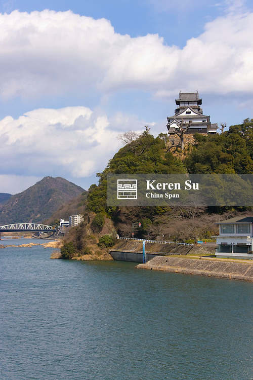 Inuyama Castle by Kiso River, Japan