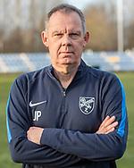 FODBOLD: Holdleder Jimmy Pedersen ved Ølstykke FC's officielle fotosession den 26. marts 2019 på Ølstykke Stadion. Foto: Claus Birch