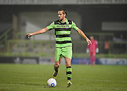 Forest Green Rovers Midfielder, Darren Carter (12) during the FA Trophy match between Forest Green Rovers and Truro City at the New Lawn, Forest Green, United Kingdom on 10 December 2016. Photo by Adam Rivers.