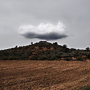 Landscape. Alcarria area. Guadalajara province. Castile - La Mancha. Spain..2011 will be the 65th anniversary of Viaje a la Alcarria (Journey to the Alcarria). In the summer of 1946, seven years after the end of the Spanish Civil War, Camilo JosÈ Cela set out on foot to discover the heart of Spain. He chose Alcarria northeast of Madrid, because he believed that the region - peasant, simple, rustic - would suit his purposes: it was a place where nothing ever happened; it was a place remarkable for its Spanishness. This is travel writing at its best - picaresque in the tradition of Cervantes, elegiac, evoking a Spain that has almost ceased to exist. Regarded as his greatest book of non-fiction, Journey to the Alcarria should help establish why Cela, at the end of 1989, surprised an English-language readership unfamiliar with his work by receiving the Nobel Prize for Literature..