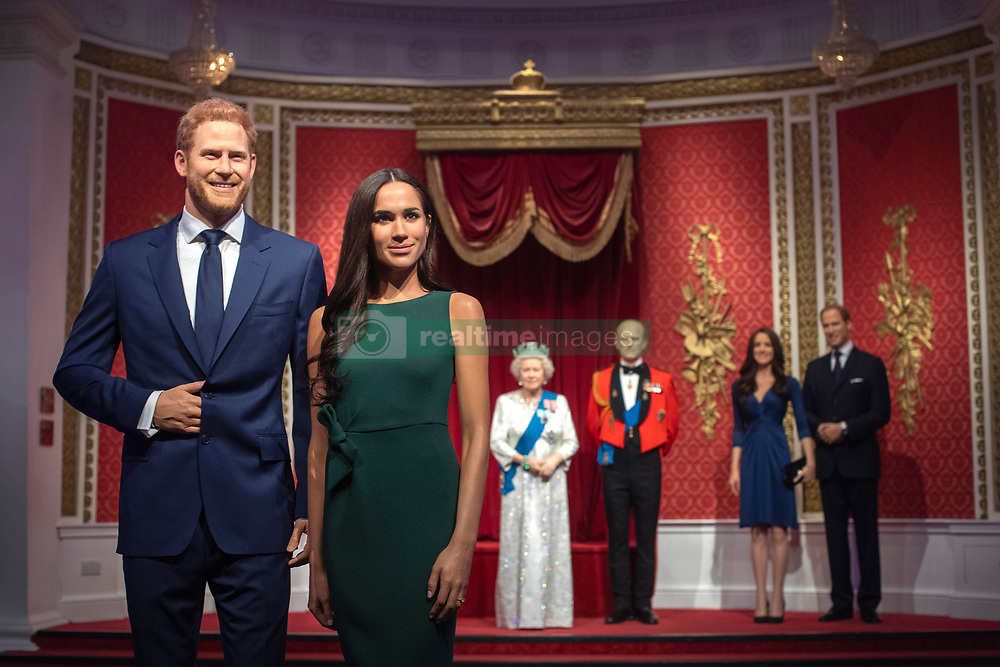 "Madame Tussauds London moves its figures of the Duke and Duchess of Sussex from its Royal Family set to elsewhere in the attraction, in the wake of the announcement that they will take a step back as ""senior members"" of the royal family, dividing their time between the UK and North America."