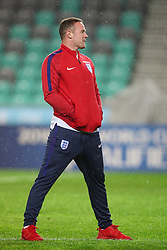 Wayne Rooney during a tour of the stadium before an England press conference ahead of the football match between National teams of Slovenia and England in Round #3 of FIFA World Cup Russia 2018 Qualifier Group F, on October 10, 2016 in SRC Stozice, Ljubljana, Slovenia. Photo by Morgan Kristan / Sportida