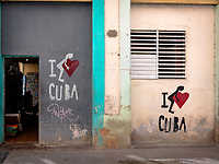 Souvenir shop in Old Havana.