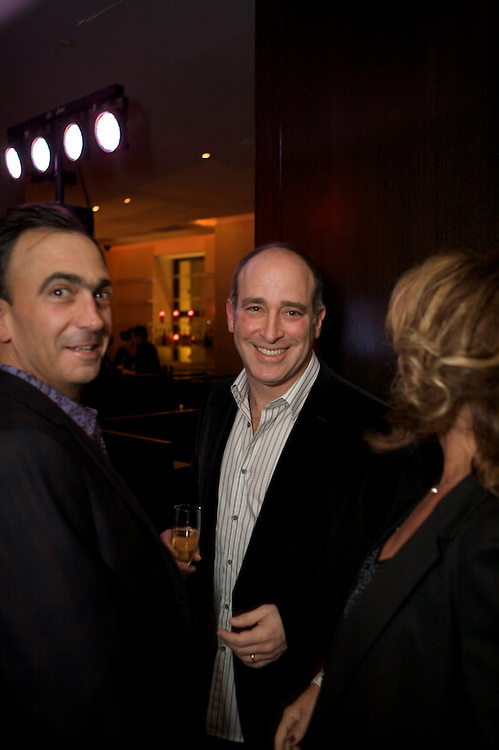 Friends and family gather to celebrate the 50th birthday of David Pearl at Hotel Saint Paul in Montreal, Canada on November 28th, 2009