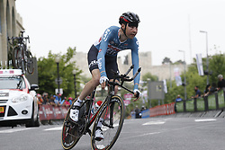 May 4, 2018 - Jerusalem, ISRAEL - Belgian Sander Armee of Lotto Soudal pictured in action during the first stage of the 101st edition of the Giro D'Italia cycling tour, an individual time trial (9,7km) in Jerusalem, Israel, Friday 04 May 2018...BELGA PHOTO YUZURU SUNADA FRANCE OUT (Credit Image: © Yuzuru Sunada/Belga via ZUMA Press)