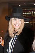 KIM HERSOV, Smythson Sloane St. Store opening. London. 6 February 2012.