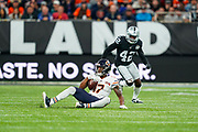 Anthony Miller (WR) of the Chicago Bears during the International Series match between Oakland Raiders and Chicago Bears at Tottenham Hotspur Stadium, London, United Kingdom on 6 October 2019.