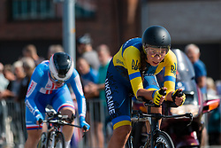 KONONENKO Valeriya from UKRAINE during Women Elite Time Trial at 2019 UEC European Road Championships, Alkmaar, The Netherlands, 8 August 2019. <br /> <br /> Photo by Pim Nijland / PelotonPhotos.com <br /> <br /> All photos usage must carry mandatory copyright credit (Peloton Photos | Pim Nijland)