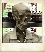 skull in labcoat with prescriptions cellphone photography,Iphone pictures,smartphone pictures