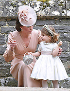 Princess Charlotte & George At Pippa Middleton Wedding