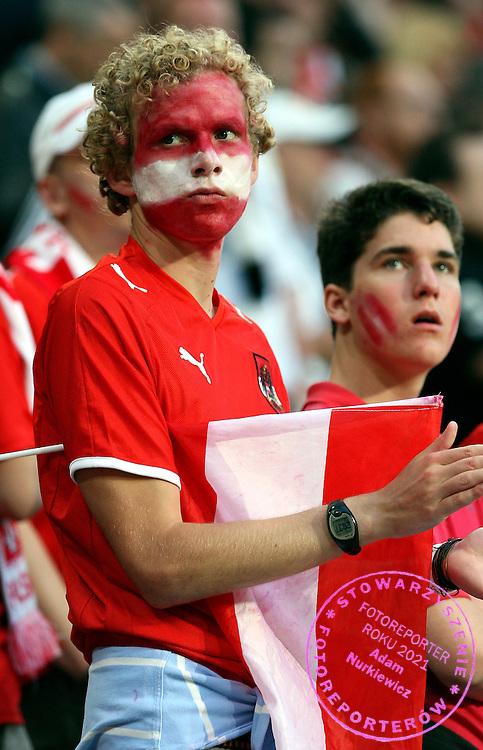 KLAGENFURT 08/06/2008.Euro 2008 - Group B.GERMANY v POLAND.POLISH FAN ..*****************.FOT. PIOTR HAWALEJ / WROFOTO