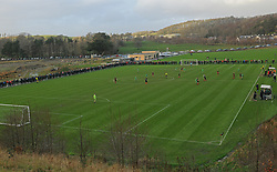 General View of United Park Westport during the junior Cup game against Usher Celtic.<br />