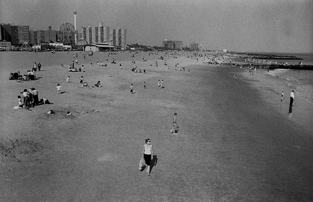 "Coney Island. Brooklyn, NYC...Part of long-term (2005-2008) story ""I See A Darkness"". New York, NY."
