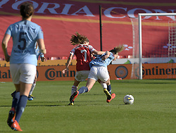 February 23, 2019 - Sheffield, England, United Kingdom - Danielle Van De Donk (Arsenal) with a foul tackle on Keira Walsh (Manchester City) during the  FA Women's Continental League Cup Final  between Arsenal and Manchester City Women at the Bramall Lane Football Ground, Sheffield United FC Sheffield, Saturday 23rd February. (Credit Image: © Action Foto Sport/NurPhoto via ZUMA Press)