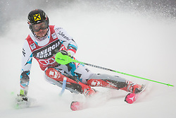 """Marcel Hirscher (AUT) during FIS Alpine Ski World Cup 2016/17 Men's Slalom race named """"Snow Queen Trophy 2017"""", on January 5, 2017 in Course Crveni Spust at Sljeme hill, Zagreb, Croatia. Photo by Ziga Zupan / Sportida"""