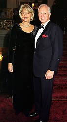 MR & MRS WINSTON CHURCHILL he is the grandson of the British wartime leader, at a fashion show in London on 2nd April 2000.OCN 57<br /> © Desmond O'Neill Features:- 020 8971 9600<br />    10 Victoria Mews, London.  SW18 3PY  photos@donfeatures.com   www.donfeatures.com<br /> MINIMUM REPRODUCTION FEE AS AGREED.<br /> PHOTOGRAPH BY DOMINIC O'NEILL