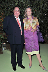 The HON.NICHOLAS SOAMES and his wife SERENA at a dinner hosted by Cartier in celebration of the Chelsea Flower Show held at Battersea Power Station, 188 Kirtling Street, London SW8 on 23rd May 2011.