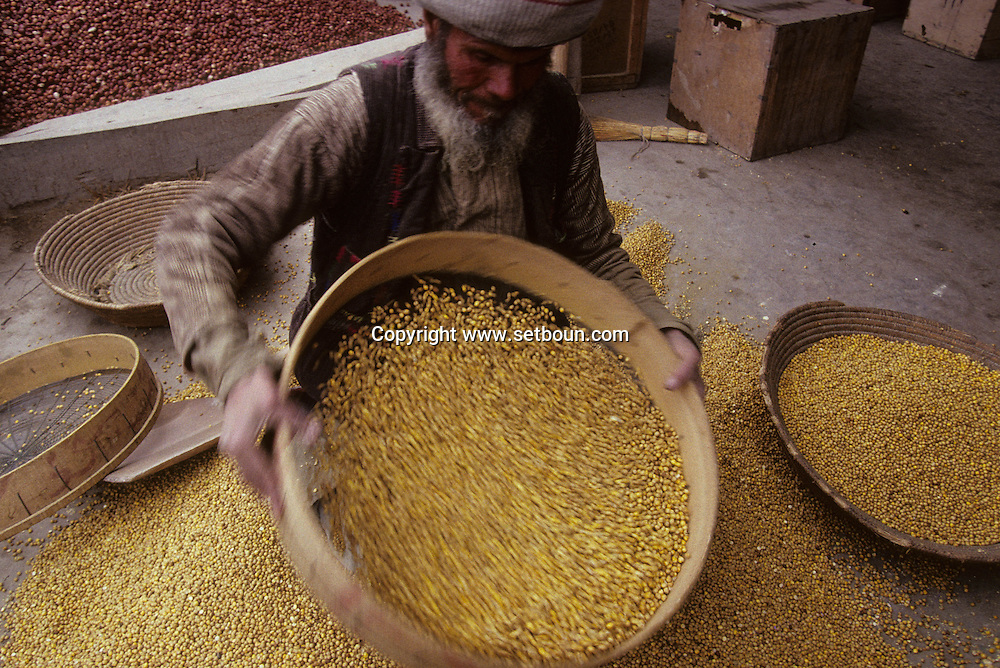 Afghanistan. Bazar in   Mazar i Sharif  Afghanistan     /le bazar de Mazar i Sharif  Mazar i Sharif  Afghanistan   /    L0007444  /  AFG021  /  P125313