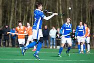 BLOEMENDAAL - hoofdklasse competitie heren.  Bloemendaal-Kampong (1-1) . Sander de Wijn (Kampong) COPYRIGHT KOEN SUYK