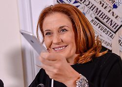 January 30, 2018 - Rome, Italy - The president of RAI Monica Maggioni during discussion Why Think Tanks Matter on January 30, 2018 in  Rome, Italy  (Credit Image: © Silvia Lore/NurPhoto via ZUMA Press)