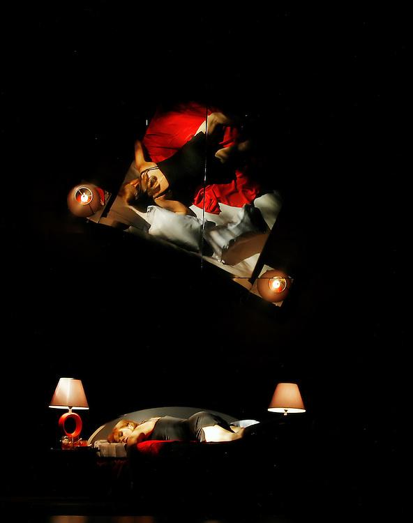 """Sherie Rene Scott in .""""WOMEN ON THE VERGE OF A NERVOUS BREAKDOWN"""".Lincoln Center Theater Production.Credit photo: ©Paul Kolnik.paul@paulkolnik.com.nyc  212-362-7778"""