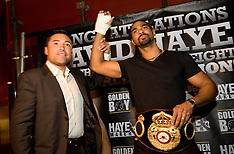 Goldenboy present David Haye