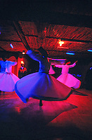 Whirling Dervishes perform the Sema, Konya, Turkey