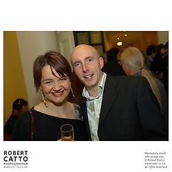 Lisa Nimmo;Chris Jones at the APRA Silver Scroll Awards 2004 at the Wellington Town Hall, Wellington, New Zealand.<br />