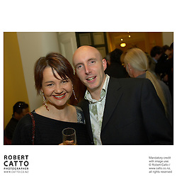 Lisa Nimmo;Chris Jones at the APRA Silver Scroll Awards 2004 at the Wellington Town Hall, Wellington, New Zealand.<br />