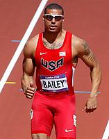 OL 2012 London<br /> Friidrett<br /> Foto: Gepa/Digitalsport<br /> NORWAY ONLY<br /> <br /> 04.08.2012<br /> 100m, Herren. Bild zeigt Ryan Bailey (USA).