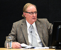 "David Falloon gives evidence at the Canterbury Earthquakes Royal Commission Hearings programme in Christchurch on the 249 Madras Street (CTV), Christchurch, New Zealand, Wednesday, July 25, 2012. Credit:SNPA / The Press, Stacy Squires  ""POOL"""